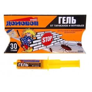 ДОМОВОЙ - Гель от  тараканов и муравьев 30 г