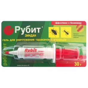 Рубит Зиндан-гель  30 г тараканы и муравьи