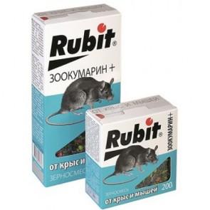 Рубит Зоокумарин зерновая смесь 200 г