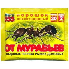 Веста - 555  от муравьев 30 г