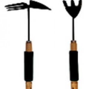 Лопатка-рыхлитель металлическая с деревянной ручкой 31*15 см (XL174D)