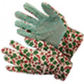 Перчатки садовые латексное покрытие (301А 301B) (синий, зеленый)