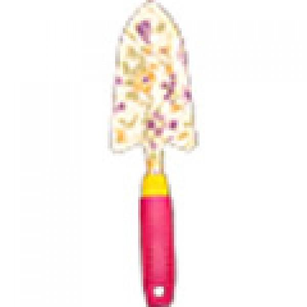 Совок посадочный садовый металлический с пластиковой ручкой (HB637-1)