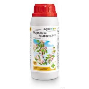 Бордоская жидкость 500 мл (15 шт)