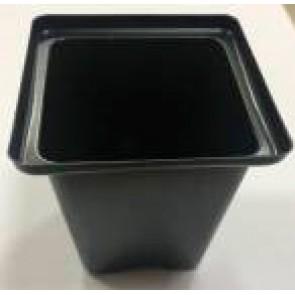 Горшок квадратный 9*9*10 уп.1440шт (полистирол)