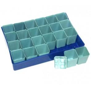 Набор для рассады пластиковый 24 ячейки