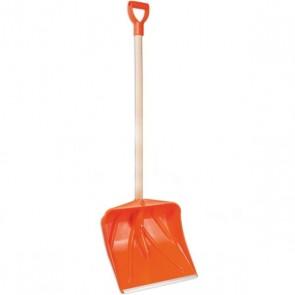 ЛОПАТА СНЕГОВАЯ пластиковая Orange 35х35 см