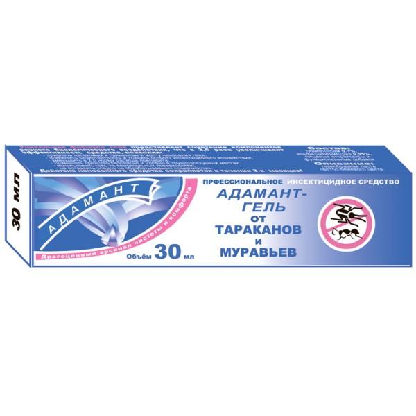 Адамант гель от тараканов и муравьев - туба  30 мл (пенал)