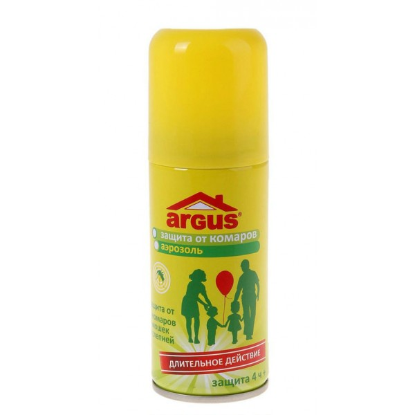 Аэрозоль ARGUS (репелентный) от комаров, мошек, слепней 100мл