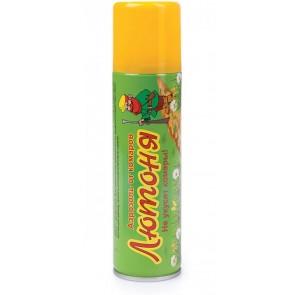 Аэрозоль ARGUS (репелентный) от комаров, мошек, слепней 150мл  (лютоня)