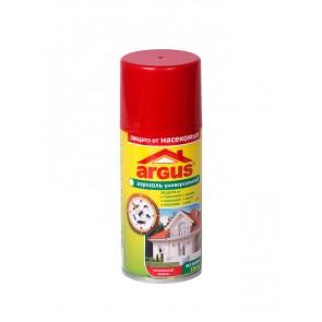 Аэрозоль ARGUS универсальный от мух, комаров, мошек, моль, тараканов, муравьев 150 мл