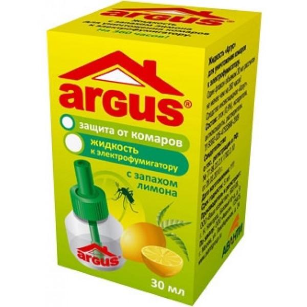 Жидкостной флакон  ARGUS 45 ночей ЛИМОН (30мл)