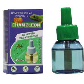 Жидкостной флакон  Хамелеон от КОМАРОВ грейпфрут 60 ночей 45 мл Я-225