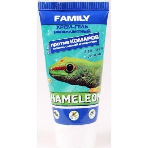 Крем Хамелеон от комаров, мошек, слепней Family 50 мл  Я-230-40