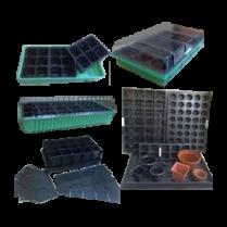 Горшки, ящики, поддоны  для рассады, минипарники, вспомогательные приспособления (56)