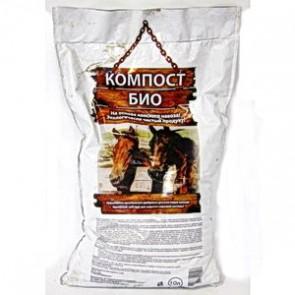 Биокомпост (на основе сухого конского навоза) 10 л