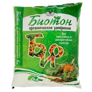 Биотон для цветочных и декоративных культур 6 л