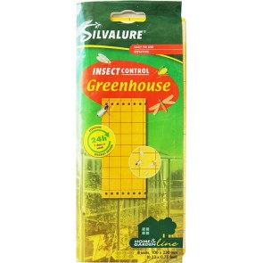 Клеевая ловушка GREENHOUSE 8 шт  размер 100х230 мм