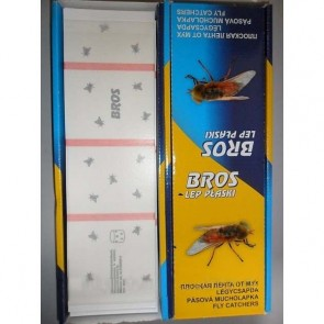 Мухолов   BROS лента от мух плоская