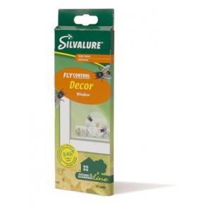 Мухолов клеевая ловушка  (окно) SILVALURE  10 штук