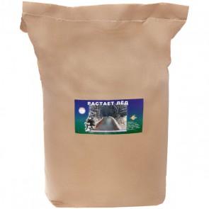РАСТАЕТ ЛЁД противогололёдный реагент (мешок 15 кг)
