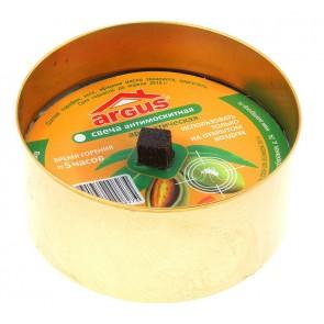 Свеча ARGUS репеллентная уличная антимоскитная с запахом Эквалипта