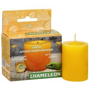 Свеча Хамелеон репеллентная от комаров Столбик  2 шт. Я-234
