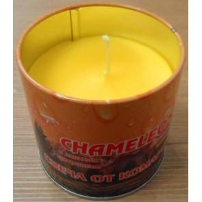 Свеча Хамелеон репеллентная от комаров в жестяной банке до 40 часов горения С-00-43