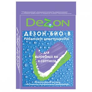 ДЕЗОН-био-В(для  выгребных ям) 80г(4*20г)
