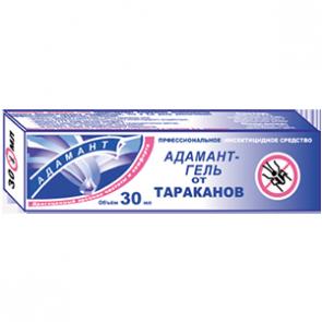 Адамант гель от тараканов - туба в пенале 30 мл